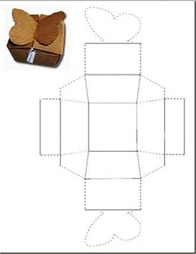 Маленькие коробочки для подарков своими руками шаблоны