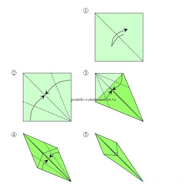 Как сделать из одной бумаги 1 кубик