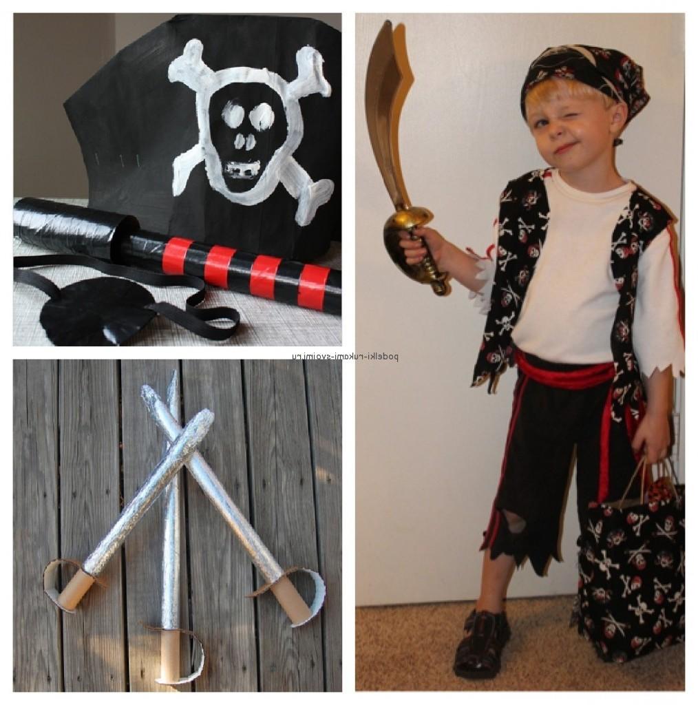 Как сделать самый простой костюм пирата
