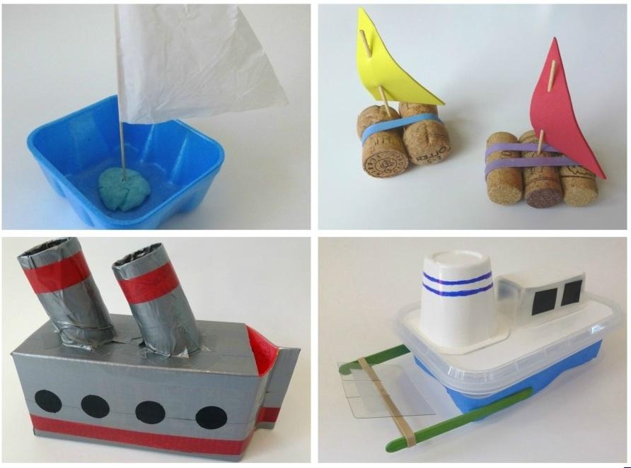 Для детей корабли своими руками из 687