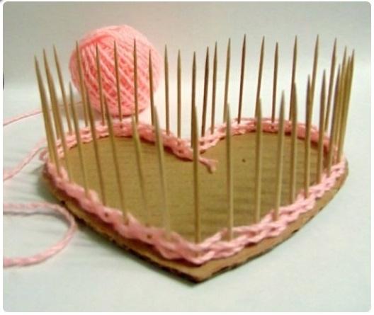 Как сделать шкатулку сердце из бумаги