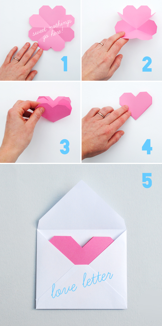 картинки как сделать валентинки своими руками
