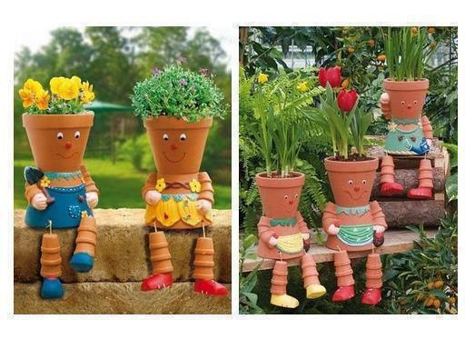 Цветочный горшок своими руками для огорода