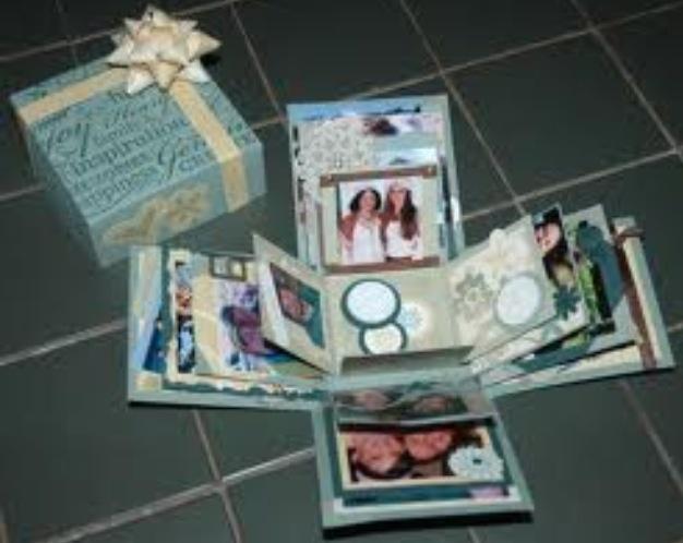 Сделать своими руками подарок с фотографиями