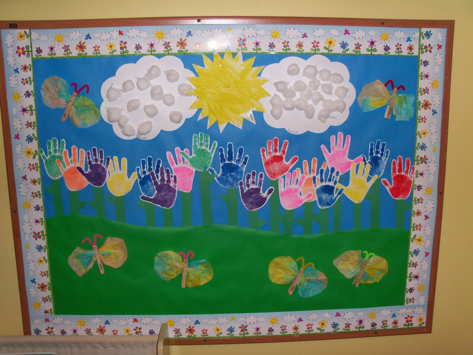 Весенняя поделка для детского сада своими руками