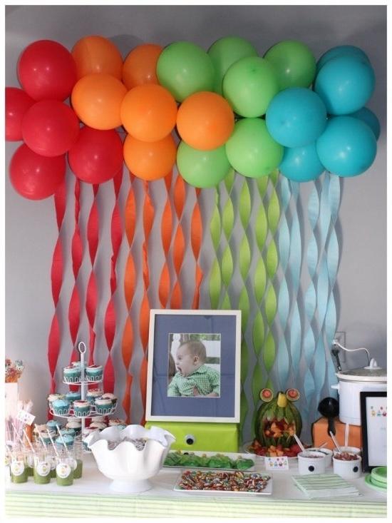 Как своими руками украсить квартиру воздушными шарами