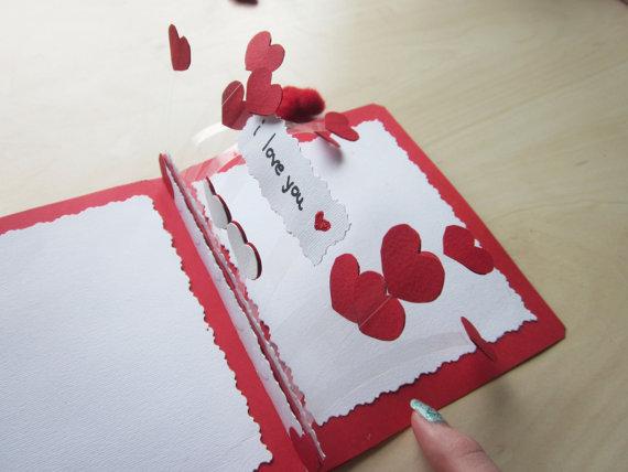 Как сделать девушке открытку 12
