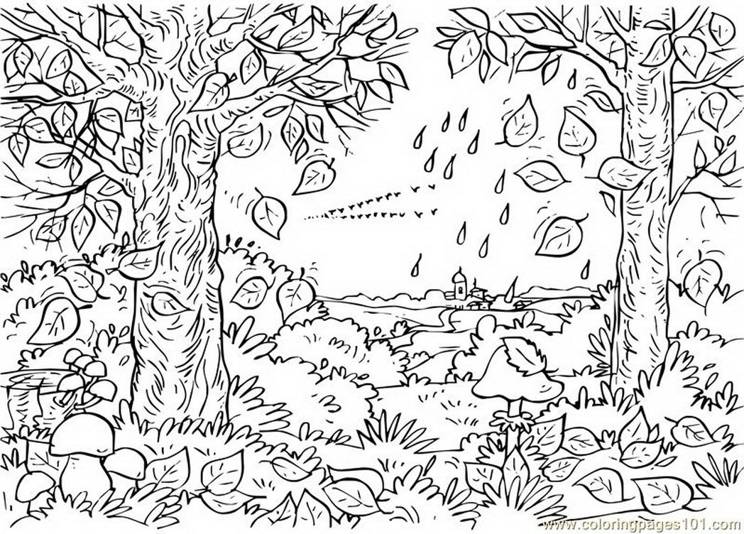 Planse Desene De Colorat Primavara as well Kolorowanki Tajemniczy Ogrod additionally Landscape Colouring Book For Kids Page besides Casas Para Colorir E Pintar furthermore . on landscape coloring pages for adults